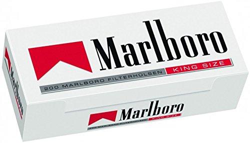 1.000 Marlboro Rot Filterhülsen