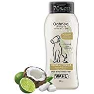 Wahl Dry Skin & Itch Relief Pet Shampoo for Dogs – Oatmeal Formula with Coconut Lime Verbena & 100% Natural Ingredients – 24 Oz