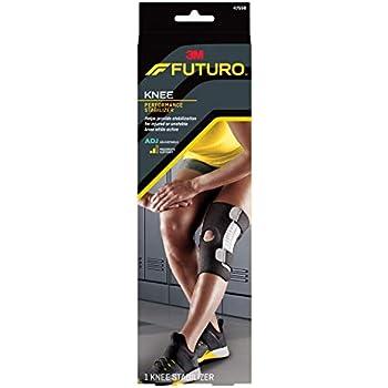 32c3c0aa6f Amazon.com: FUTURO Knee Performance Stabilizer, Adjustable 1 ea ...