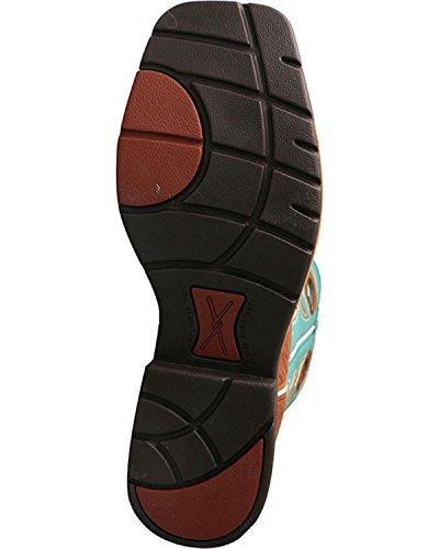 Twisted Lightweight Toe Mlcs020 Boot X Cognac Cognac Steel Work Men's rSHStq