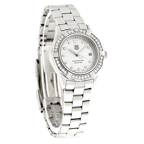 TAG Heuer Women's WAF1416.BA0813 Aquaracer Diamond Accented Quartz Watch