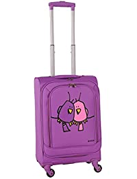 Ed Heck Big Love Birds Spinner Luggage 21-Inch, Purple, One Size