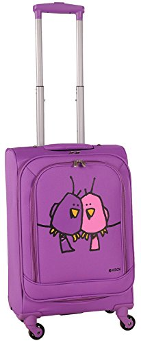 ed-heck-big-love-birds-spinner-luggage-21-inch-purple-one-size