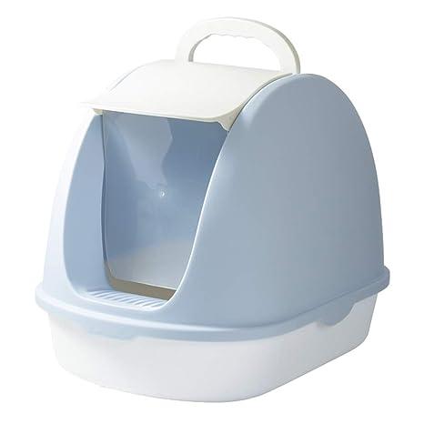 SELCNG Caja de Arena para Gatos Inodoro Grande para Gatos Cerrado con Desodorante Anti-Salpicaduras
