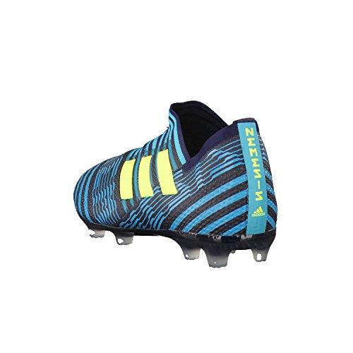 adidas Nemeziz 17+ 360agility FG J, Zapatillas de Deporte Unisex Niños Azul (Tinley / Amasol / Azuene)