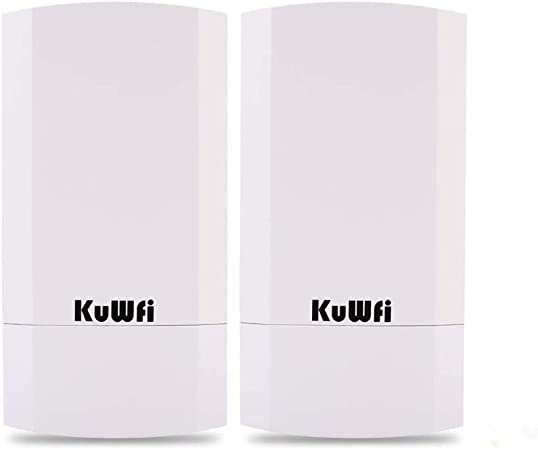 Kuwfi 300mbps Indoor Outdoor Point To Point Wireless Computers Accessories