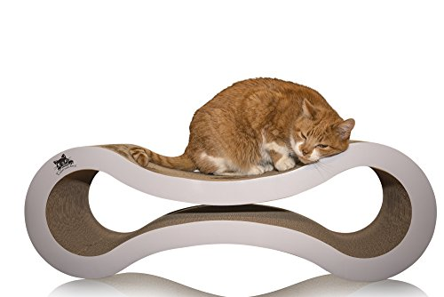 Amazon.com: Catscratcherz Cat Scratcher Lounger Bed with Catnip, Large (82 cm): Health & Personal Care