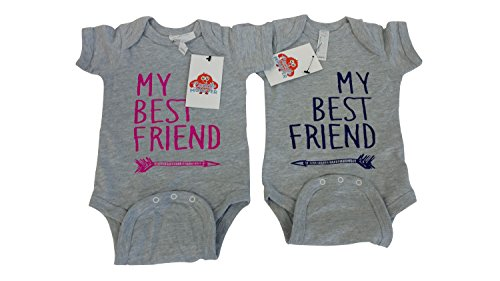 e36a620c2 Boy Girl Twin Outfits -Twin Boy & Girl Baby Clothes -Boy & Girl Matching  Shirts - Buy Online in Oman. | Apparel Products in Oman - See Prices, ...