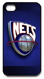 NBA Brooklyn Nets Customizable iphone 4/4s Case by icasepersonalized
