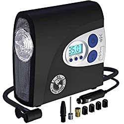 P.I. Auto Store Tire Inflator- Electric 12v DC Portable Auto Air Compressor