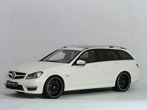 GT Spirit – gt147 – Fahrzeug Miniatur – – – Mercedes C63 AMG T Modell S204 – Echelle 1/18, weiß perlmutt 2df0ac