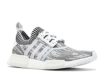 adidas NMD_R1 PK Men's Shoes Grey/White by1911 (7.5 D(M) US)