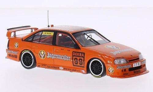 3000 Made Diecast Model - Opel Omega A 3000 24V, No.99, Schuebel Motor Sport, Jägermeister, DTM, 1991, Model Car, Ready-made, Minichamps 1:43