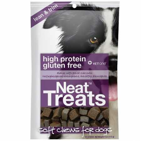 Vet One 313985010491 1-4 oz Resealable Neat Treats Soft Chews for Dogs