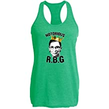 Pop Threads Notorious R.B.G. Funny Womens Tank Top