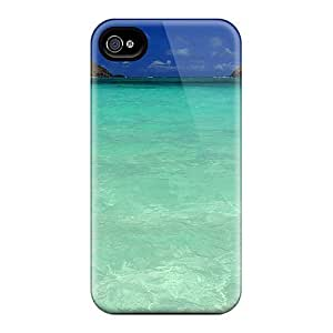 Scratch-free Phone Diy For Ipod 2/3/4 Case Cover Retail Packaging - New England Patriots Oahu Beach