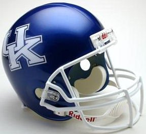 Kentucky Wildcats Full Size Replica Football Helmet - Licensed NCAA Sports Gift - Kentucky Wildcats Merchandise