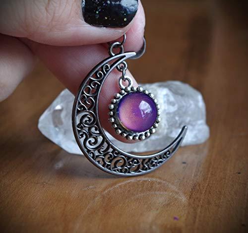 Top 10 moon necklace handmade