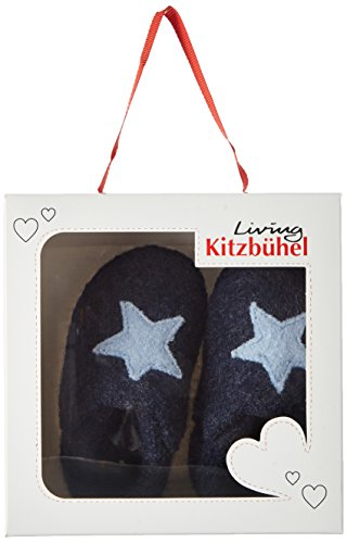 d'intérieur Mixte Kitzbühel Chaussons bébé Star Living Blau Newborn Nachtblau Stern Baby Hpw0gYYq
