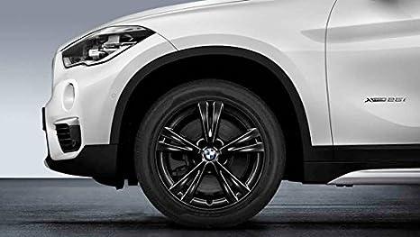 Original BMW X1 F48 Verano Completo de rueda doble radios 385 Negro 17 Bridgestone M