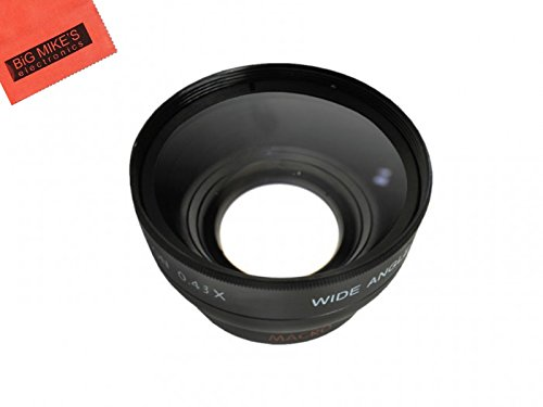 52mm Wide Angle Lens with Macro for Panasonic Lumix G Vario