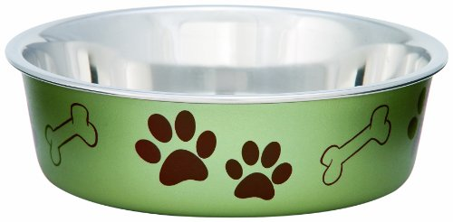 Loving Pets Metallic Bella Bowl, Large, (Bella Dog)