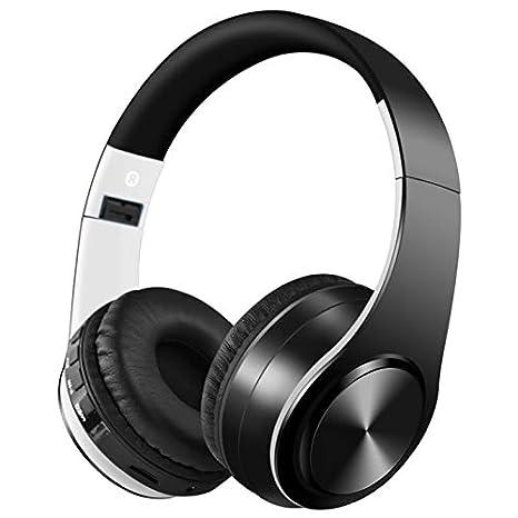 QYYDLYEJ Año Nuevo Auriculares Bluetooth Auriculares Soporte ...