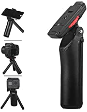 """Mini Tripod, LENSGO L311 Portable Tabletop Cell Phone Camera Stand Travel Holder with Universial Cell Phone Clip & 1/4"""" Screw & GoPro Mount for Android iPhone Smartphone Canon Nikon DSLR Camera GoPro"""