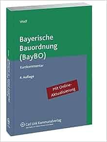 Bayerische Bauordnung Abstandsflächen : bayerische bauordnung baybo 9783556020692 books ~ Whattoseeinmadrid.com Haus und Dekorationen