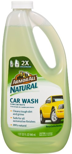 Armor All Car Wash Concentrate (Armor All 78481 Natural Car Wash Concentrated Liquid - 32)
