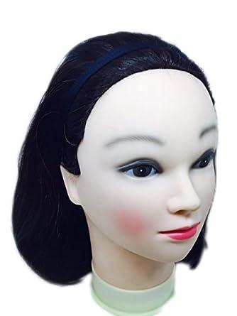 Pink Flamingo Women s Poly Cotton Thin Antislip Headband (Black ... 070a1acdc52