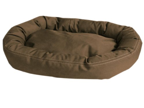 CPC Brutus Tuff Comfy Cup Pet Bed, 42-Inch, Olive (Comfy Round Cup)