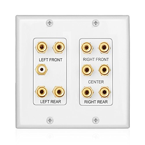 TNP Home Theater Wall Plate