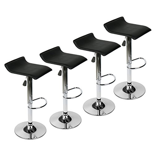 Puluomis 360 Degree Swivel Adjustable Bar Stool Mordern
