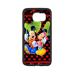Micky-Mouse Samsung Galaxy S6 Cell Phone Case White Phone cover E1344629