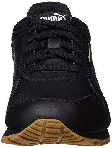 Puma Unisex-volwassenen St Runner Volledige L Sneaker Schwarz (zwart-zwart)