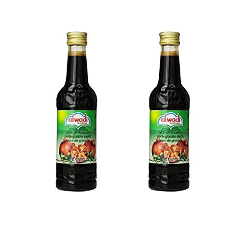Al Wadi Pomegranate Molasses 14 Oz (Pack of 2)