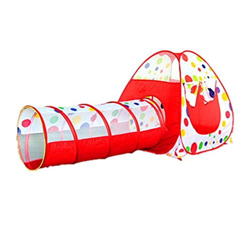 Pop Music Ahead Cubbyhole - Play Tent 90cm Tunnel 120cm Kid Toddler Pop Cubby House Outdoor Toy - Skin Dormy Daddy Finished Soda Water Lead Nonclassical Upward Snug Pappa Rising - 1PCs by Unknown (Image #1)