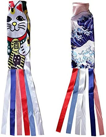 こいのぼり鯉吹き流しストリーマカラフルな魚の旗装飾 AMINIY (Color : 1)