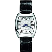 Bedat & Co Women's No.3 Black Leather Band Steel Case Quartz Silver-Tone Dial Analog Watch 316.010.100