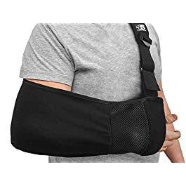 Ergonomic Arm Sling Medical Support Strap for Men and Women. Comfortable Immobilizer with Adjustable Slings for Shoulder…