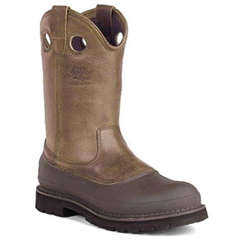 Georgia Boot Men's Muddog Work Boot,Brown,9 M