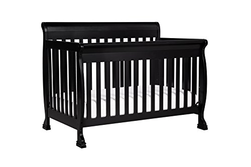 DaVinci Kalani 4-In-1 Convertible Crib, Ebony