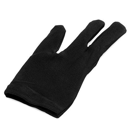 Snooker Left Hand Three Fingertip Glove - 4