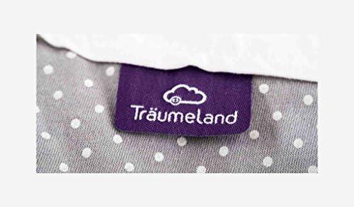 Träumeland Sac de couchage extérieur à pois Gris multicolore 56/62