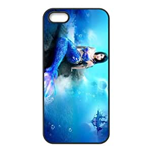 Anime Mermaid iPhone 4 4s Cell Phone Case Black Phone cover W9319481