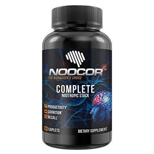 Amazon com: Noocor Complete: 14 Nootropics in One Stack | Extra