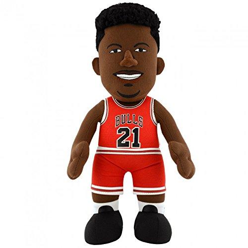 "NBA Chicago Bulls Jimmy Butler Plush Figure, 10"", Red"