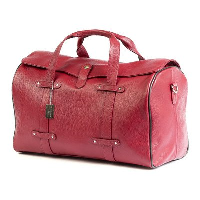 Claire Chase Lindy Duffel, Red