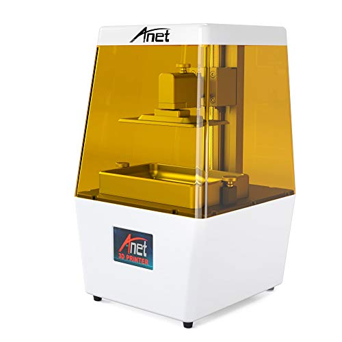- ALUNAR SLA 3D Printer 40um Ultra High Precision Fully Assembled Innovation Mini Desktop Resin UV Printer with 3.5'' HD Smart Color Touch Screen USB Off-line Print 4.72